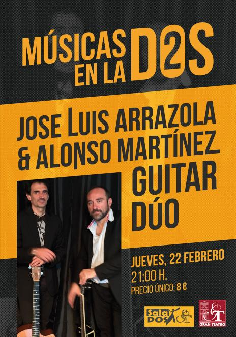 JOSE LUIS ARRAZOLA & ALONSO MARTINEZ GUITAR DUO